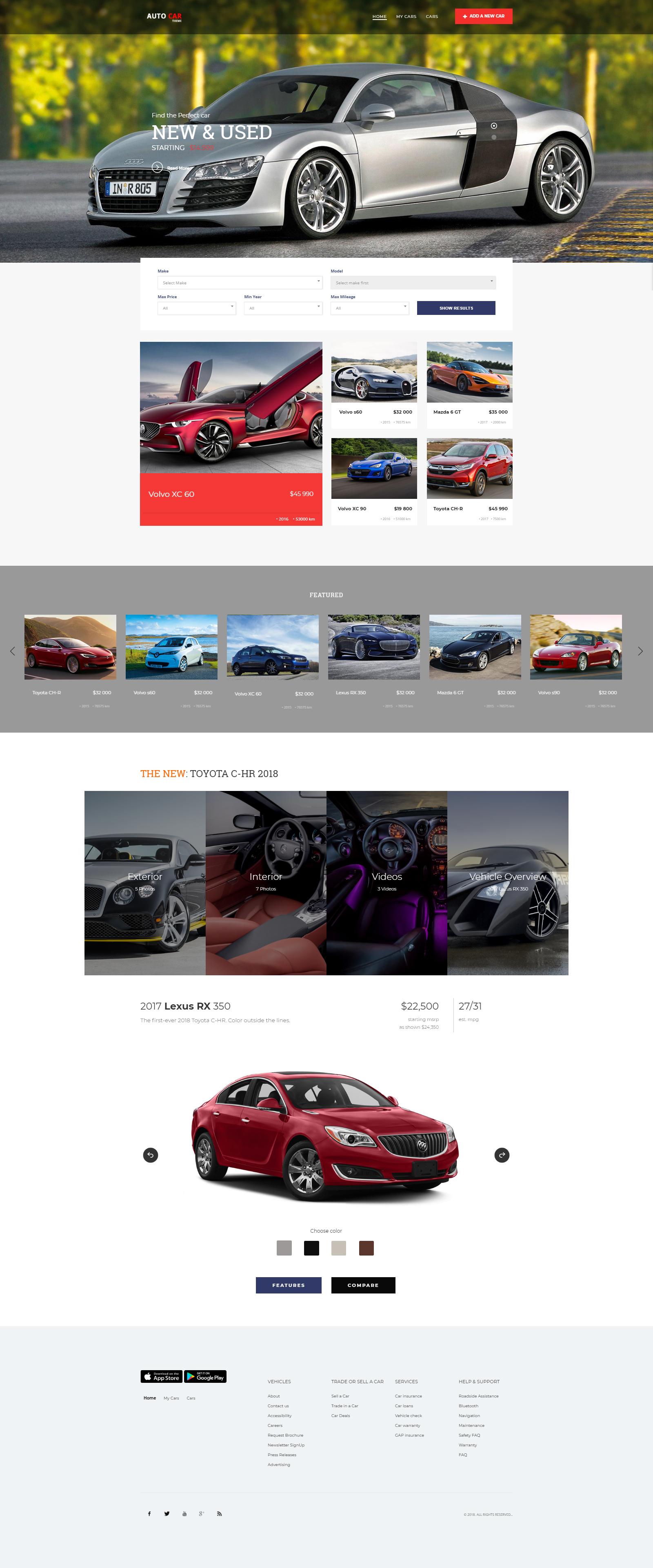 car - web designing company Kolkata
