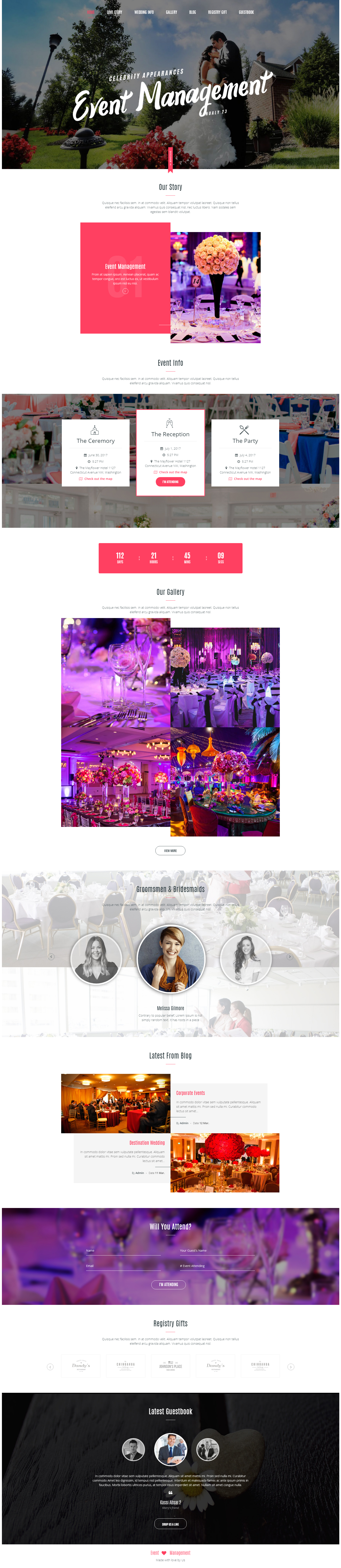 event-magenment -web design Kolkata